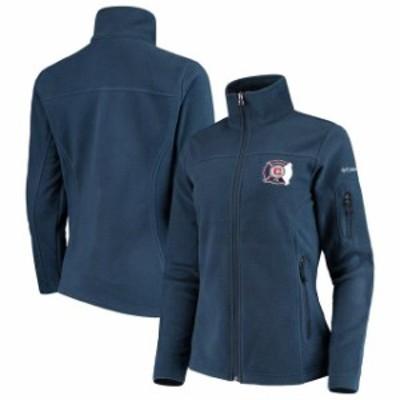 Columbia コロンビア スポーツ用品  Columbia Chicago Fire Womens Navy Give & Go Full-Zip Jacket
