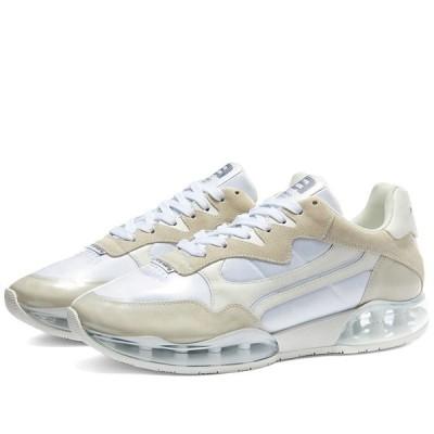 アレキサンダー ワン Alexander Wang メンズ スニーカー シューズ・靴 Cellophane Wrapped Sneaker White