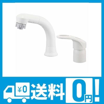 SANEI 洗面用 シングルスプレー混合栓 洗髪用 エコ 節約 引き出しホース K37610EJV-13