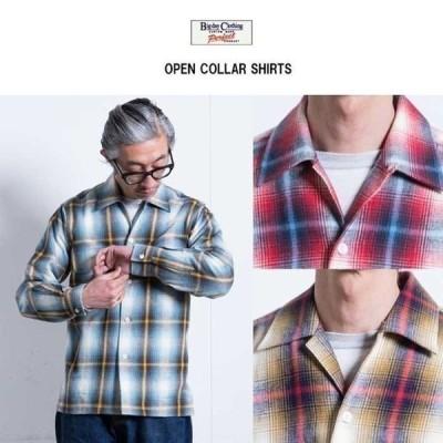 期間限定 30%OFF BIG DAY ビッグデイ ライトフランネル オープンカラーシャツ全3色 MADE IN JAPAN