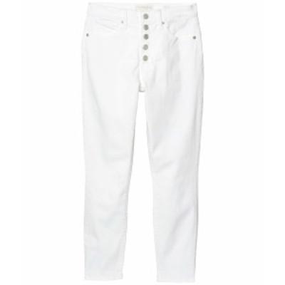 ラッキーブランド レディース デニムパンツ ボトムス High-Rise Bridgette Skinny Jeans in Clean White Clean White