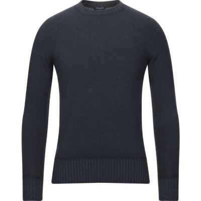 ドルモア DRUMOHR メンズ ニット・セーター トップス Sweater Dark blue