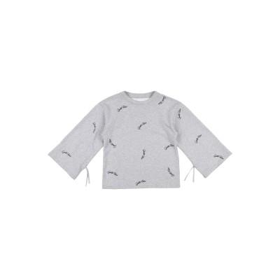 GAëLLE Paris スウェットシャツ ライトグレー 6 コットン 100% スウェットシャツ