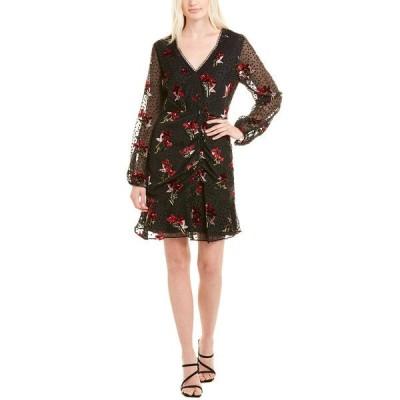 ショシャーナ ワンピース トップス レディース Shoshanna Mini Dress black combo