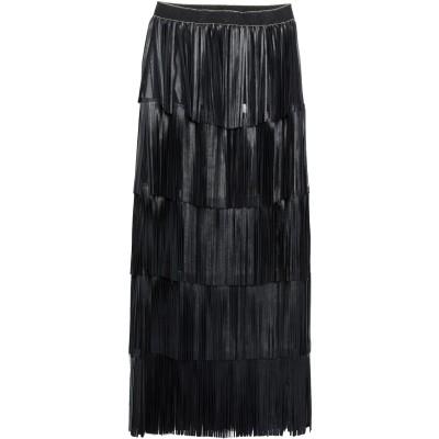 CABAN ROMANTIC 7分丈スカート ブラック 40 革 7分丈スカート