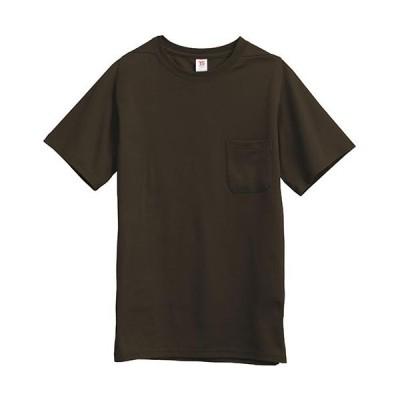 ティーエスデザイン(TS DESIGN) メンズ 半袖Tシャツ 1055 61 ブラウン SS〜LL 作業服 作業着 ワークウェア ワークシャツ