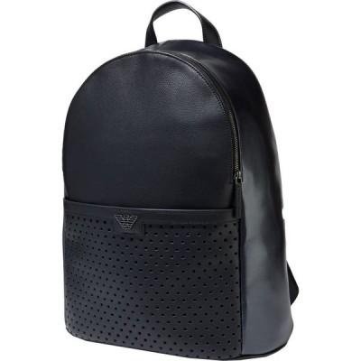 アルマーニ EMPORIO ARMANI メンズ バッグ backpack & fanny pack Black