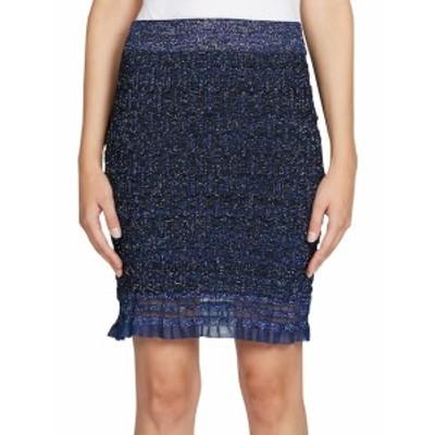 ケンゾー レディース スカート Ruffle Lurex Knit Skirt