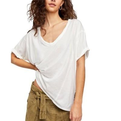 フリーピープル レディース シャツ トップス Luna T-Shirt