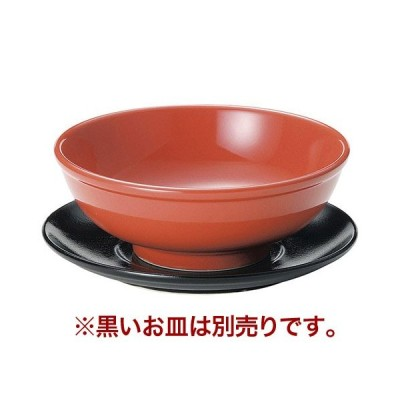 6.5玉丼 赤釉 高さ74(mm)/業務用/新品