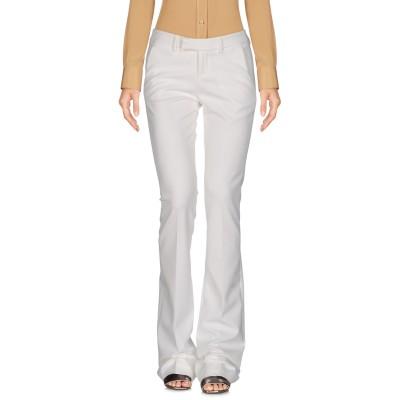 LADY CHOCOPIE パンツ ホワイト 46 ポリエステル 88% / ポリウレタン 12% パンツ