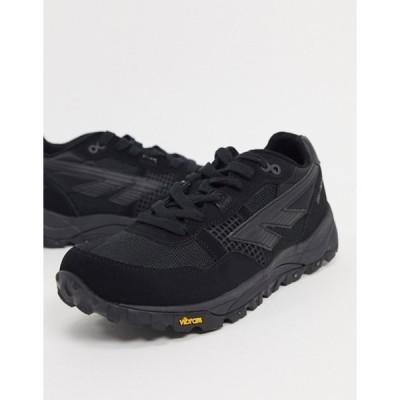 ハイテック メンズ スニーカー シューズ Hi-Tec BW Infinity chunky sneakers in black