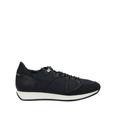 フィリップ モデル PHILIPPE MODEL スニーカー&テニスシューズ(ローカット) ブラック 39 紡績繊維 / 革 スニーカー&テニスシュ