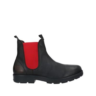 DOCKSTEPS ショートブーツ ブラック 43 革 / 紡績繊維 ショートブーツ