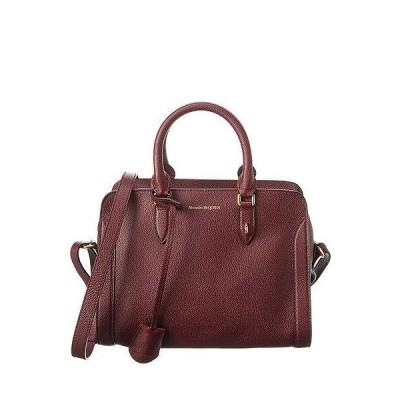 レディース アクセサリー  Alexander McQueen Padlock Zip Small Leather Shoulder Bag