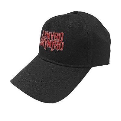 Lynyrd Skynyrd Men's Logo Baseball Cap Adjustable Black