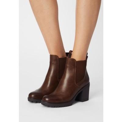 マルコトッツイ レディース 靴 シューズ Ankle boots - cognac antic