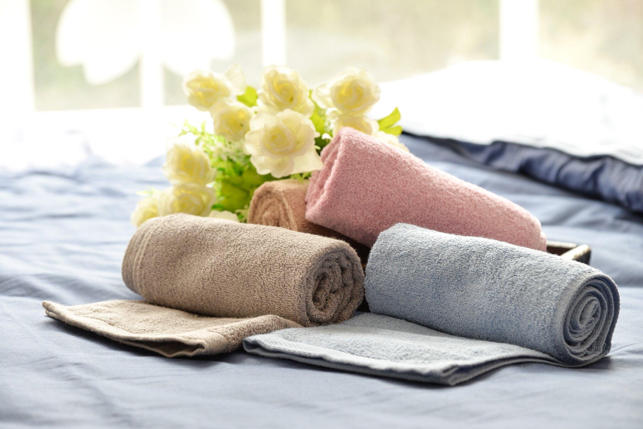 歐風素色毛巾 浴巾 100%純棉 台灣製造 緹朵拉生活館 76*33公分 線圈綿密吸水