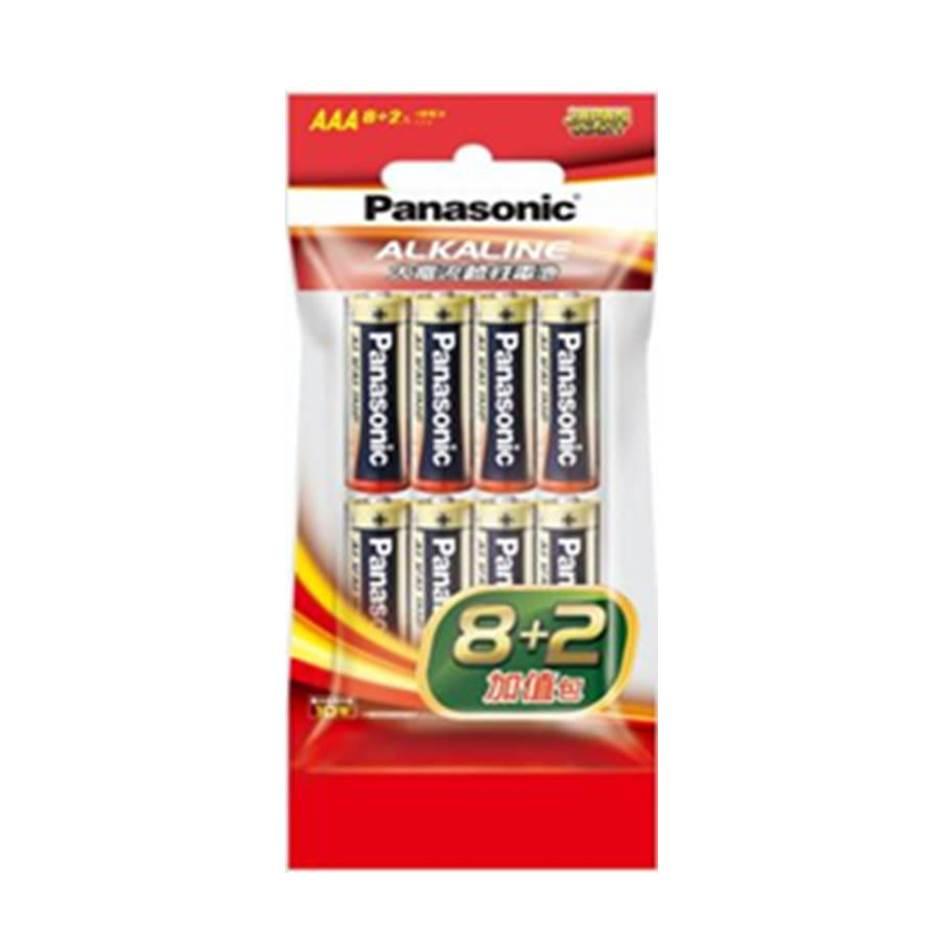 國際牌Panasonic 大電流鹼性電池4號10入(LR03TTS/10S-R)