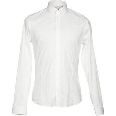パトリツィア ペペ PATRIZIA PEPE メンズ シャツ トップス patterned shirt Ivory