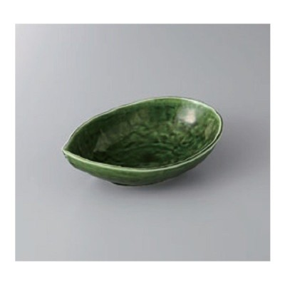 鉢 小鉢 織部リーフ小鉢