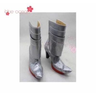 艦隊これくしょん -艦これ- 那珂 改二 なかあら ために  風 コスプレブーツ  靴 シューズ  cosplay  cos