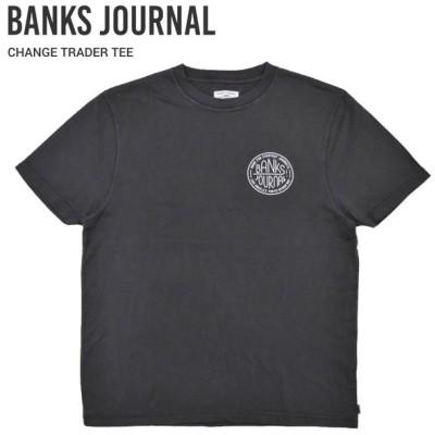BANKS JOURNAL バンクス ジャーナル Tシャツ CHANGE TRADER TEE SHIRT 半袖 カットソー WTS0494 単品購入の場合はネコポス便発送