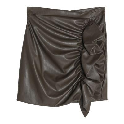 VICOLO ミニスカート ミリタリーグリーン S ポリエステル 50% / ポリウレタン 50% ミニスカート