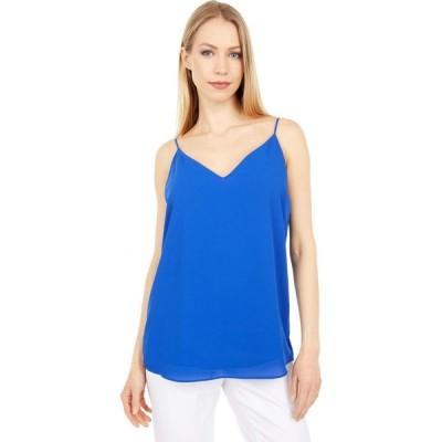 カルバンクライン Calvin Klein レディース ブラウス・シャツ トップス Strappy Cami Klein Blue