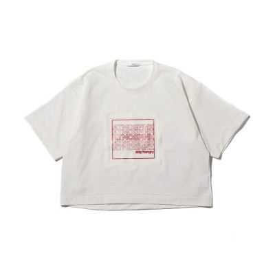 【アトモス】 atmos pink フィルム Tシャツ WHITE ユニセックス ホワイト FREE atmos