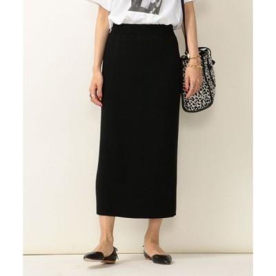 SHIPS for women / シップスウィメン SHIPS any: ハイゲージニットスカート