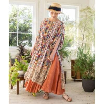 チャイハネ 公式 [タビカラワンピース] エスニック アジアン  ファッション ワンピース IAC-1128