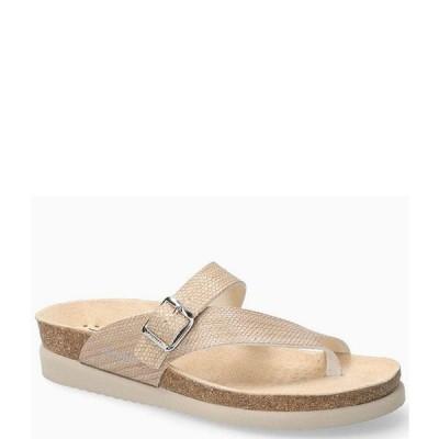 メフィスト レディース サンダル シューズ Helen Buckle Detail Leather Casual Sandals