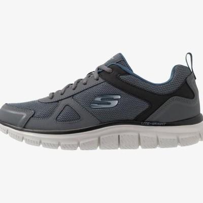 スケッチャーズ メンズ 靴 シューズ TRACK - Trainers - gray/navy