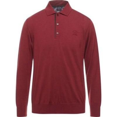 ポール シャーク PAUL & SHARK メンズ ニット・セーター トップス Sweater Brick red