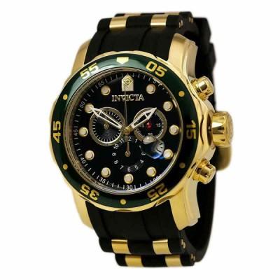 インビクタ 腕時計 Invicta メンズ Watch Pro Diver プロダイバー Scuba クロノグラフ Black MOP Dial Dive Strap 17883 インヴィクタ