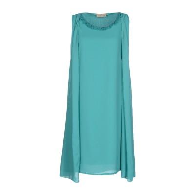 ジャスト・フォー・ユー JUST FOR YOU ミニワンピース&ドレス ターコイズブルー M ポリエステル 100% ミニワンピース&ドレス