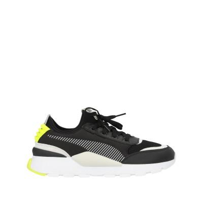 プーマ PUMA スニーカー&テニスシューズ(ローカット) ブラック 6.5 紡績繊維 スニーカー&テニスシューズ(ローカット)
