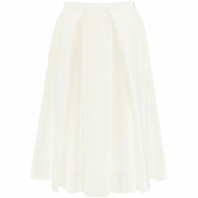 MARNI/マルニ White Marni cotton midi skirt レディース 春夏2021 GOMA0352A0UTCZ56 ik
