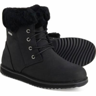 エミュ EMU Australia レディース ブーツ シューズ・靴 Shoreline Lo Boots - Waterproof. Leather Black