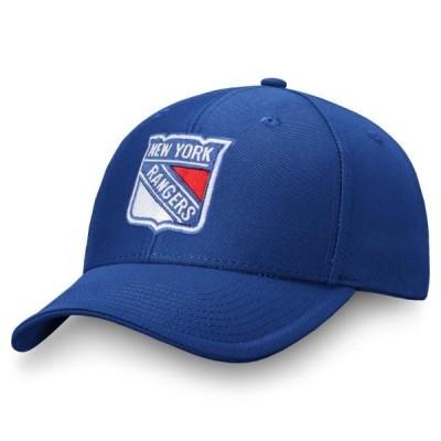 メンズ スポーツリーグ ホッケー Men's Fanatics Branded Blue New York Rangers Adjustable Hat - OSFA 帽子