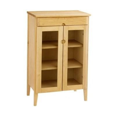 キャビネット サイドボード 戸棚 本棚 食器棚 木製 セレス 幅54cm 高さ85cm ガラスキャビネット カップボード 収納棚 棚 サイドキャビネット