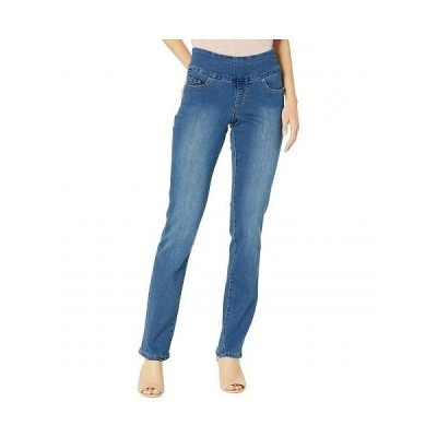 Jag Jeans ジャグジーンズ レディース 女性用 ファッション ジーンズ デニム Peri Pull-On Straight Jeans in Butter Denim - Riverdale