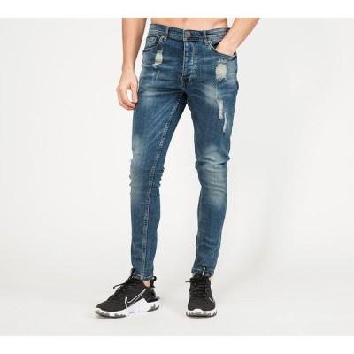 デラヴェ Delave メンズ ジーンズ・デニム ボトムス・パンツ denim skinny jean Blue