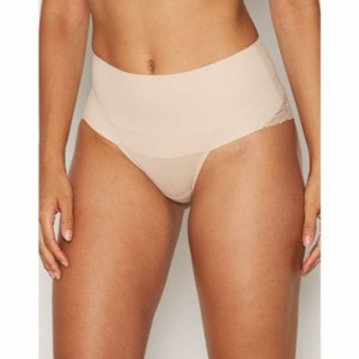 スパンクス ショーツのみ lacy cheeky Nude