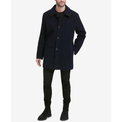 コールハーン Cole Haan メンズ コート アウター Wool-Blend Coat Navy
