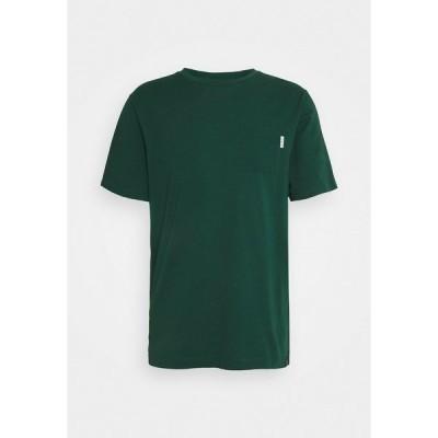 スコッチアンドソーダ Tシャツ メンズ トップス POCKET TEE - Basic T-shirt - green dream