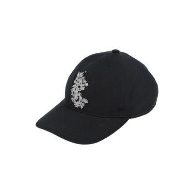アレキサンダー マックイーン ALEXANDER MCQUEEN 帽子 ブラック M ポリエステル 55% / ウール 45% 帽子