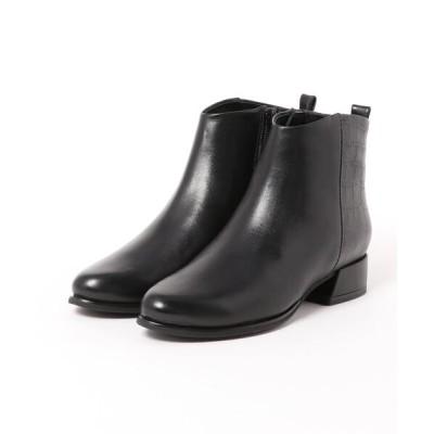 Mode et Jacomo×ing / コンビデザインショートブーツ WOMEN シューズ > ブーツ