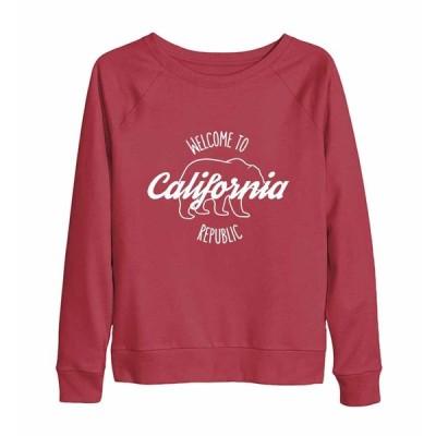 【カリフォルニアへようこそ】レディーススウェット(トレーナー)